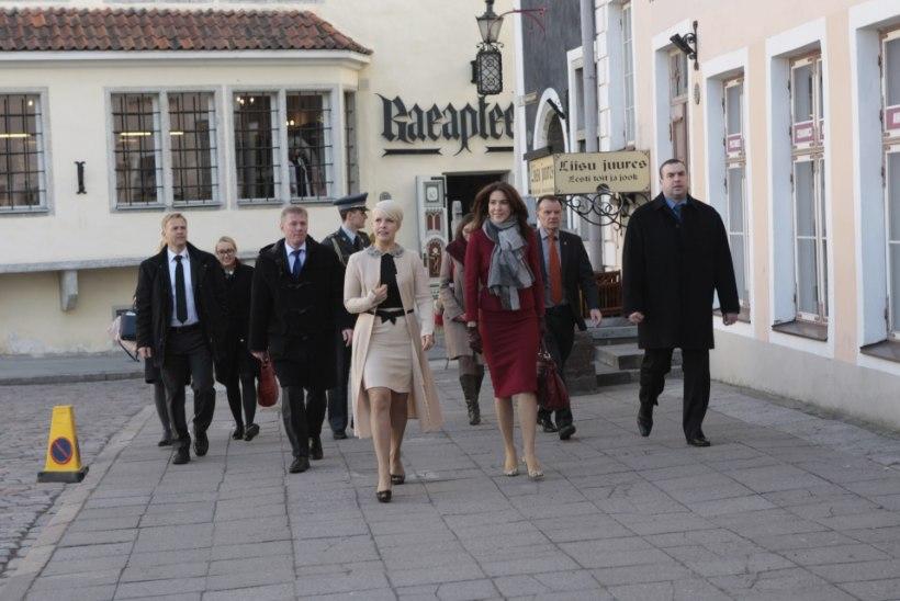 GALERII: kroonprintsess Mary ja Evelin Ilves avasid konverentsi ja külastasid disainiseminari