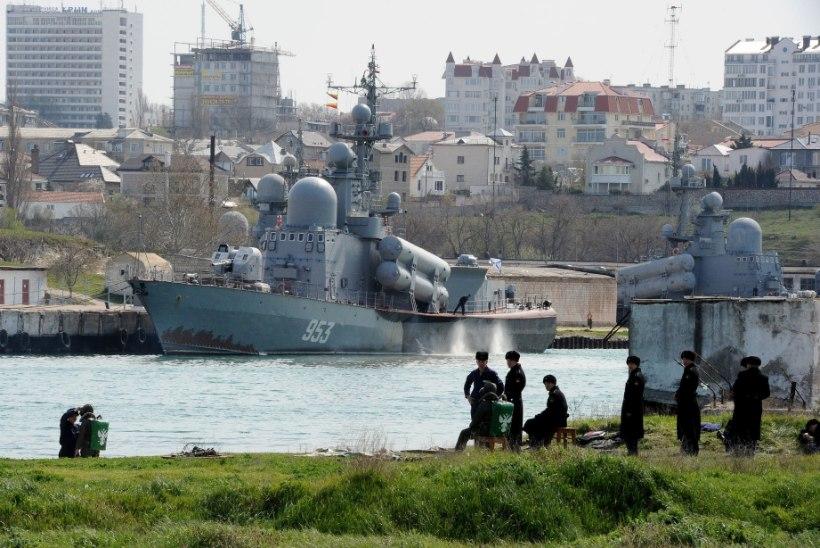 Venemaa tühistas Musta mere laevastiku lepped Ukrainaga