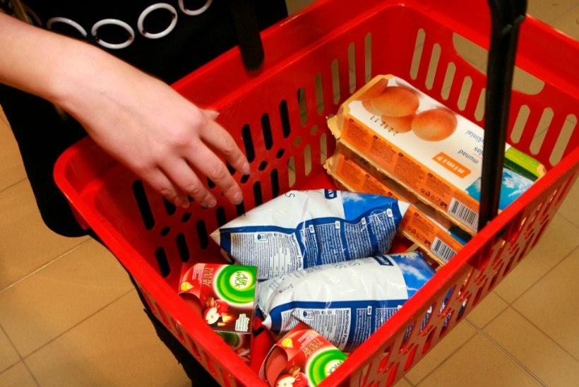 Baltikumis kasvasid toiduhinnad aastaga enim Eestis