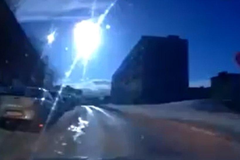 VIDEO: kas Venemaal tabas kaamerasilm meteoriiti?