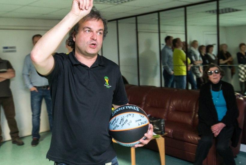 GALERII: Marko Kaljuveer lahkus ERRist korvpalliga!