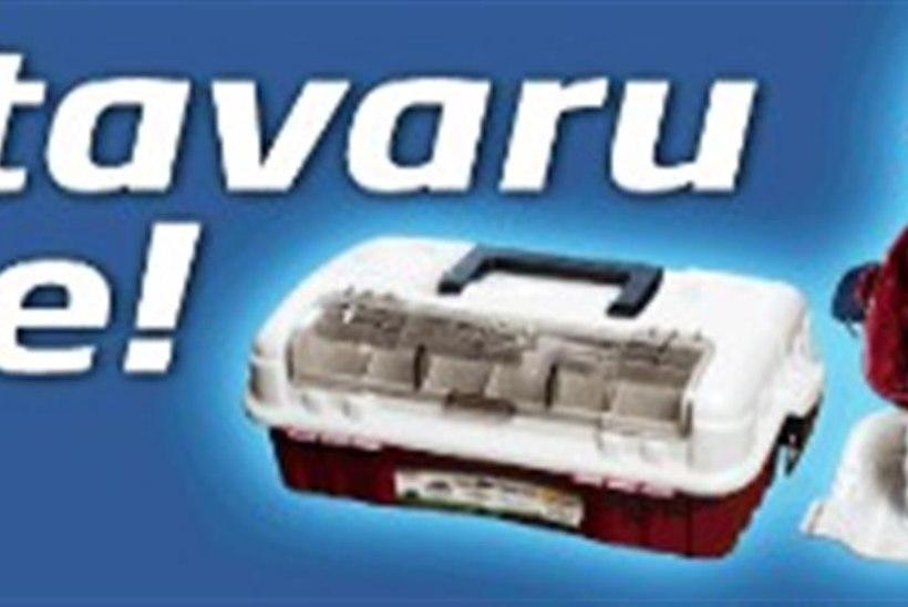 Osta Shimano rull ja võida kastitäis lante ning muud tarvilikku!