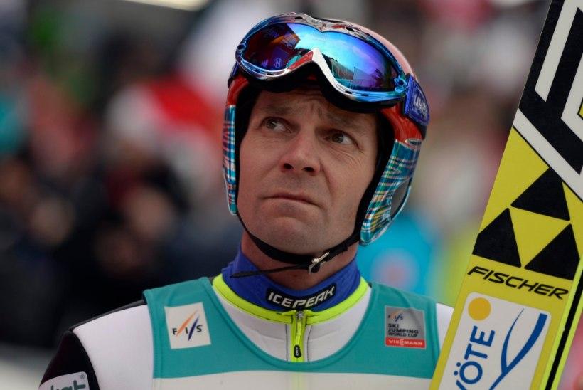 36aastane Janne Ahonen: tahan veel korra olümpial võistelda!