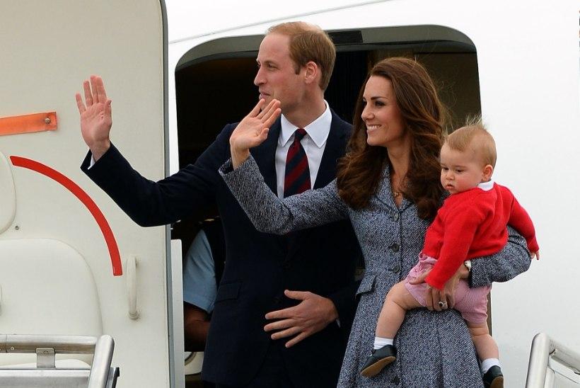 FOTOD: Catherine ja William lõpetasid visiidi Uus-Meremaale ning Austraaliasse