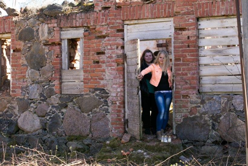 Kohutav leid: varemetes kolanud neiud leidsid surnupea