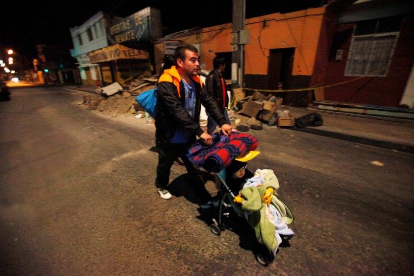 GALERII: maavärinatest räsitud Tšiili