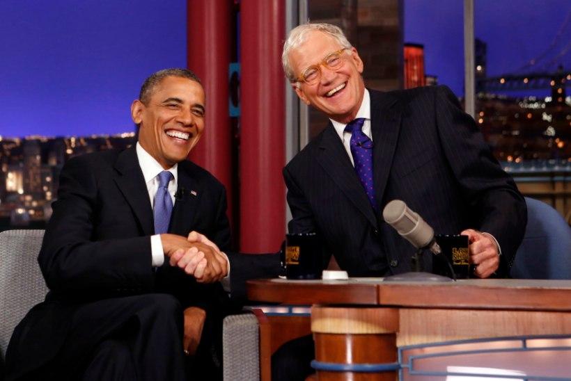 Jutusaatelegend David Letterman lahkub ootamatult ekraanilt