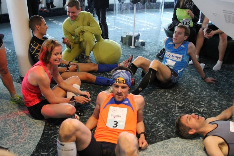 Poolakas Piotr Lobodzinski tegi Tallinna Teletorni trepijooksu rekordi