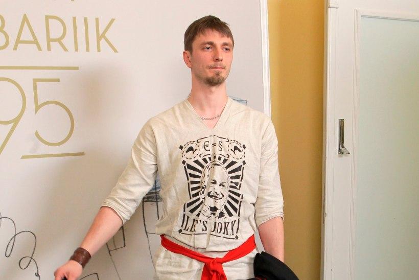 USKUMATU! Poliitaktivist Meelis Kaldalu smugeldas end Eurovisioni-lavale ja korraldas võiduhetkel stseeni!