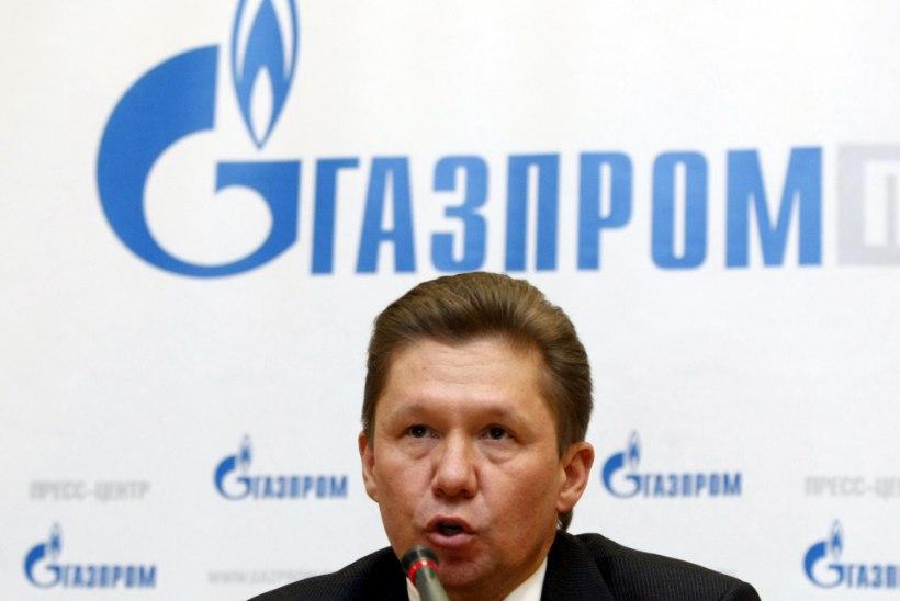Gazprom nõuab Ukrainalt raha ette