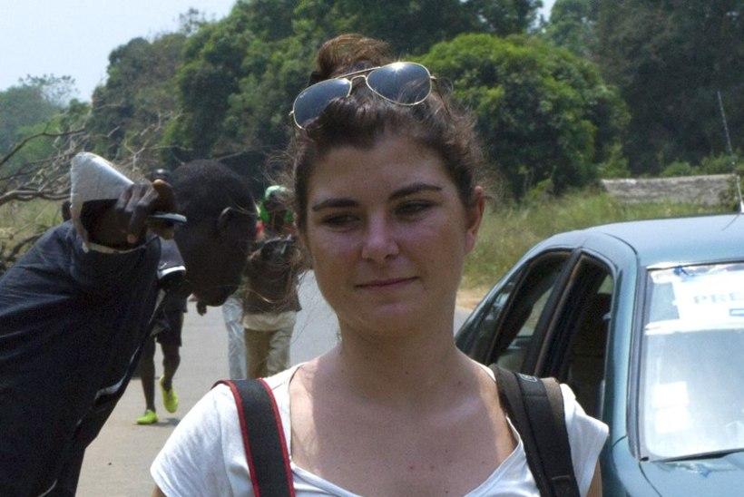 KAVis tapeti naisfotograaf