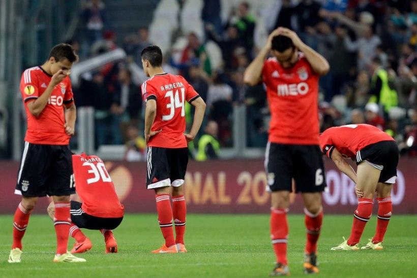 STATISTIKAPOMM | Benfica needus ja penaltikaotus numbrites