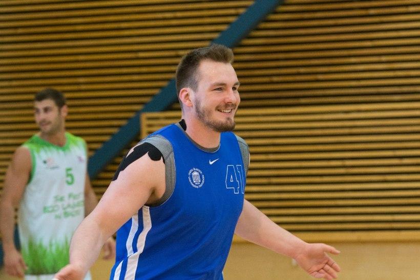 Eesti judomeister Juhan Mettis madistas korvpalliplatsil!
