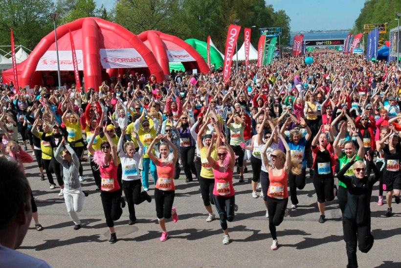 VÕIMAS! Maijooksul üle 16 000 osaleja!