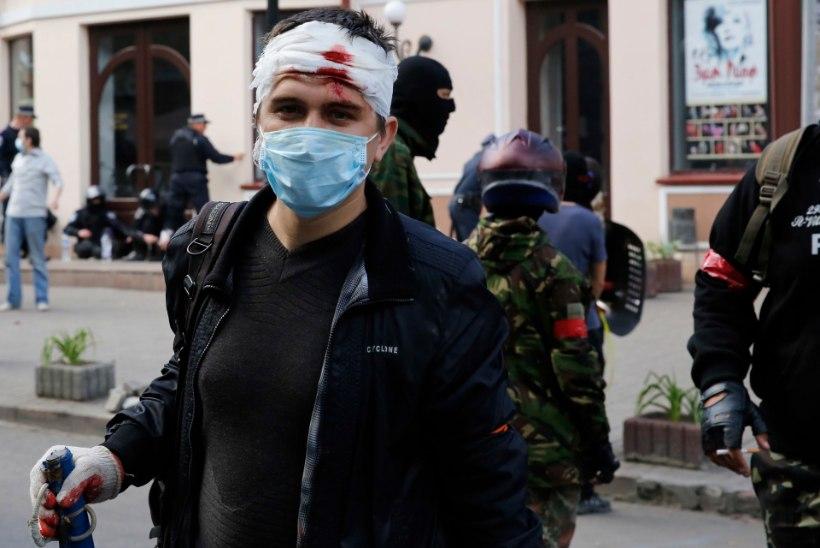 GALERII: vene- ja ukrainameelsete vastasseis Odessas