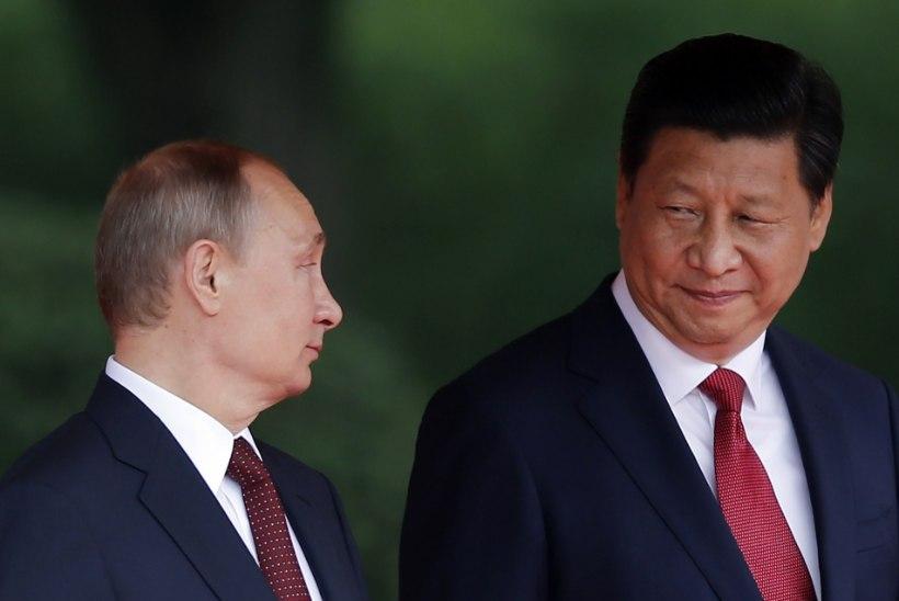 """Putin Hiinas: Vene-Hiina suhted on ajaloo """"kõrgeimal tasemel"""""""