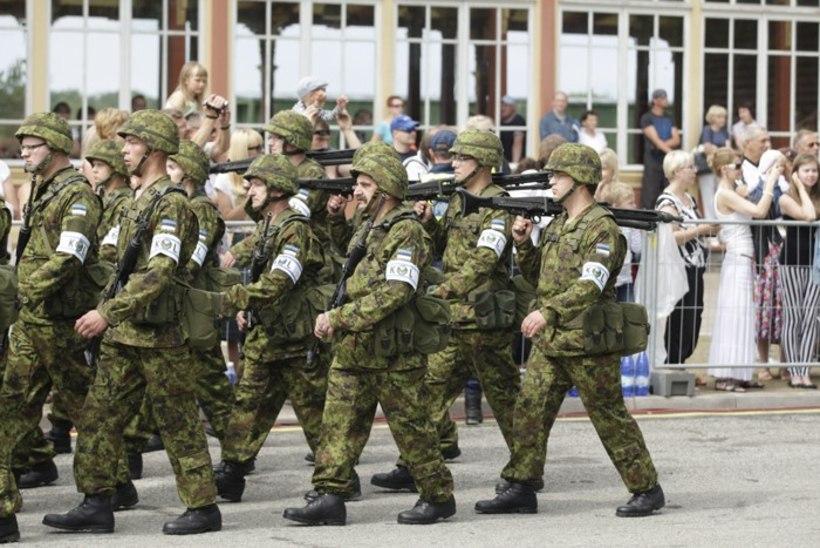 Kaitseliidu võidupüha paraadil marsitakse Valka