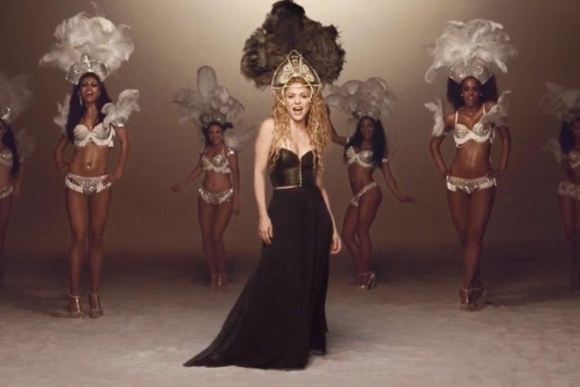 Vaata Shakira uut ja hoogsat videot!