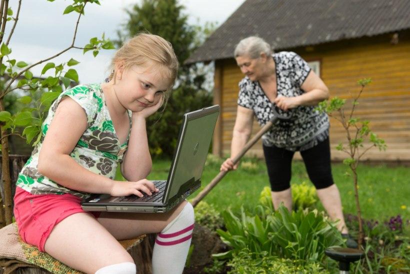 Suveks maale vanaema juurde? Ei tea – jube igav on, kui arvutit ei ole!