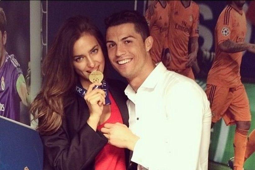 FOTOUUDIS: Cristiano Ronaldo pruut hammustas Meistrite liiga kuldmedalit