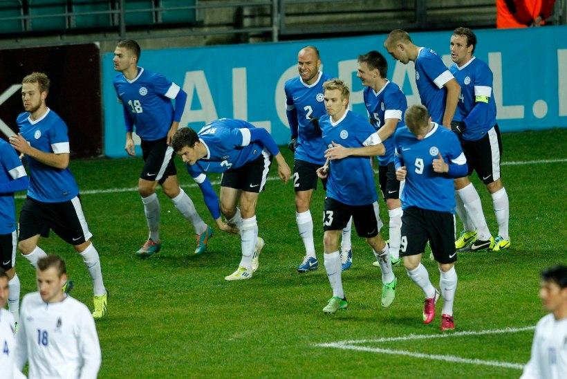 Kui Eesti täna Gibraltarist jagu saab, sünnib võidurekord!