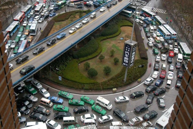 Hiina plaanib liiklusest kõrvaldada kuus miljonit sõidukit