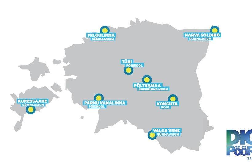 Samsung toob digipöörde kaheksasse Eesti kooli