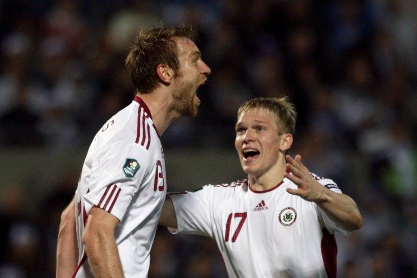 Läti kaks suuremat staari Eesti vastu ei mängi, üks jonnib, teine on vigastatud