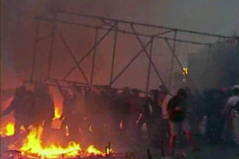 Ukrainas Odessas hukkus ametiühingute hoone põlengus 36 inimest