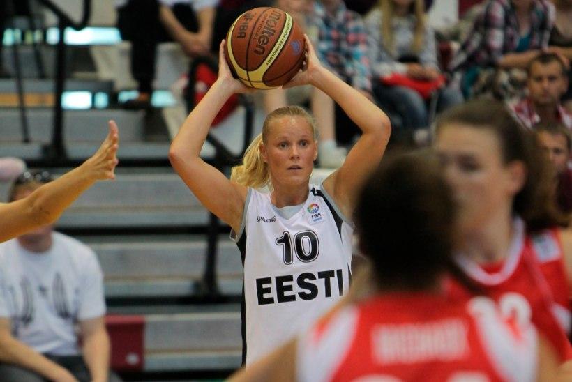 """Naiste korvpallikoondis sai Slovakkialt korraliku """"sauna"""""""