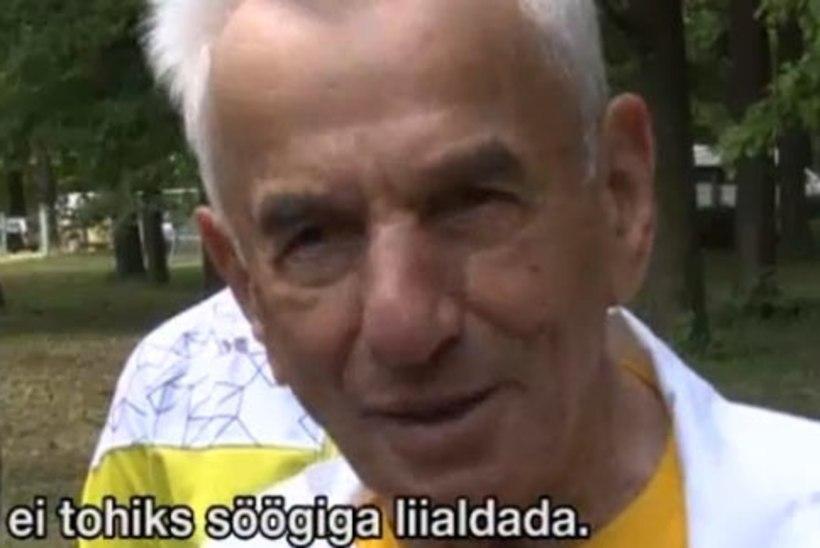 VIDEO: 104-aastane poolakas sprintis 100 meetrit!