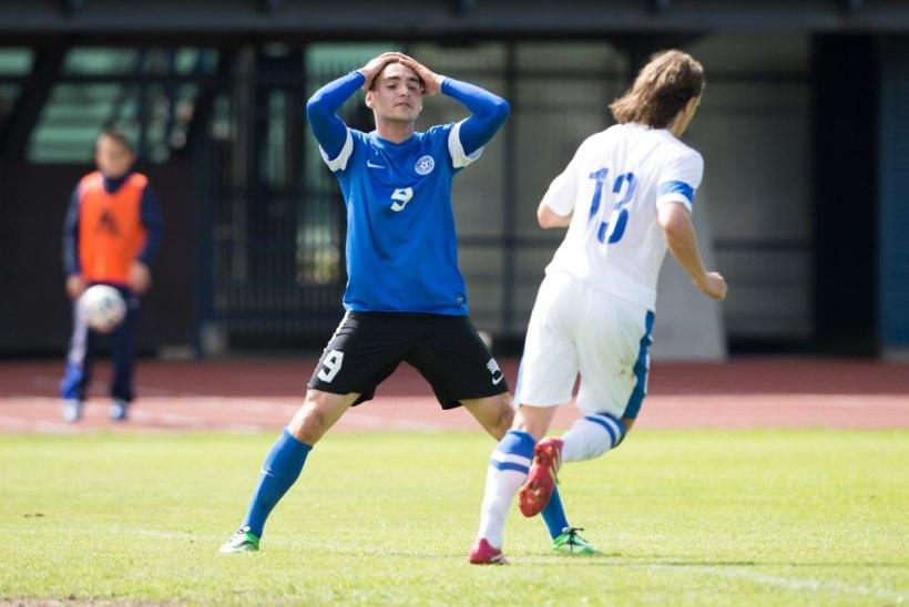 FOTOD: Eesti kaotas Soomele ja jäi Balti turniiril viimaseks