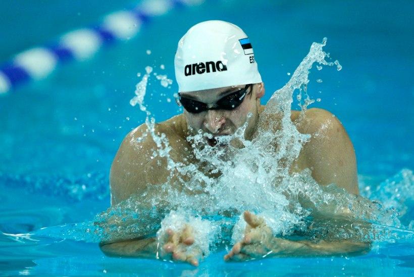Aljand ja Tribuntsov ujusid Lätis vägevaid rekordeid