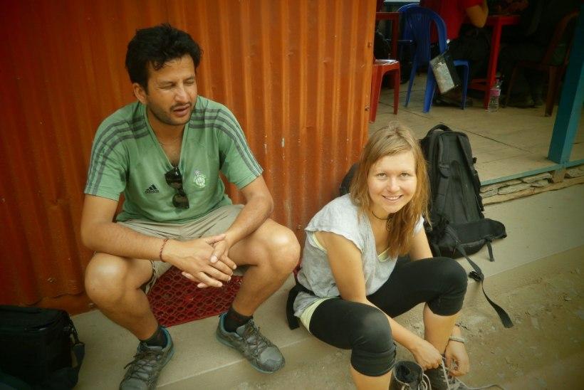 Indoneesia blogi: Nepaal (5. osa) - raske jalaga autojuhte kitsad mägiteed ei häiri