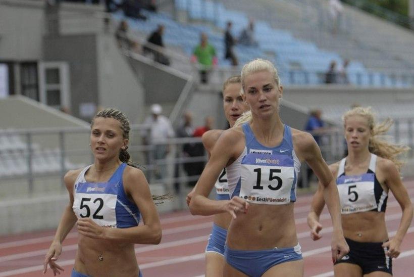 Eesti rekordinaine, kes tüdrukuna ajas Sakus koduhoovis uljalt poisse taga