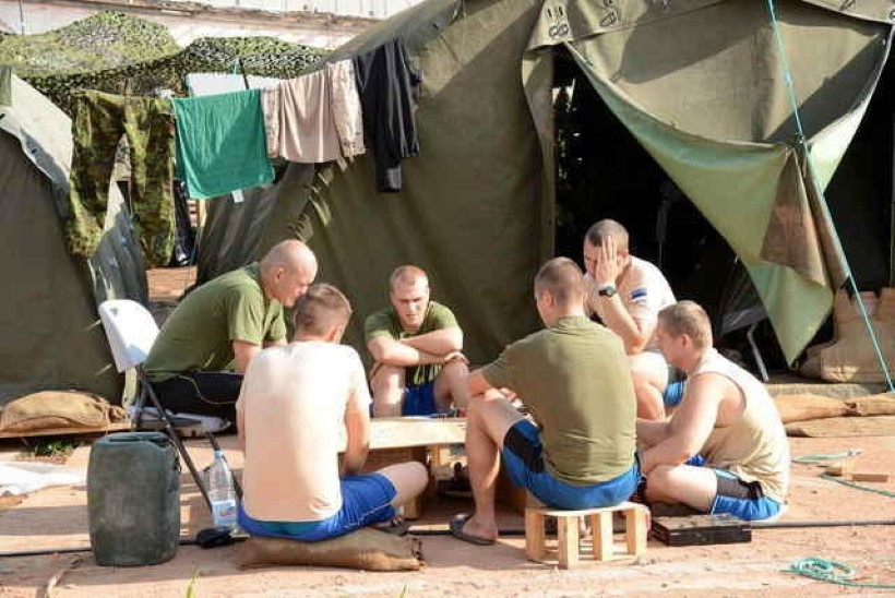 GALERII: Eesti kaitseväelaste eluolu Kesk-Aafrika Vabariigis