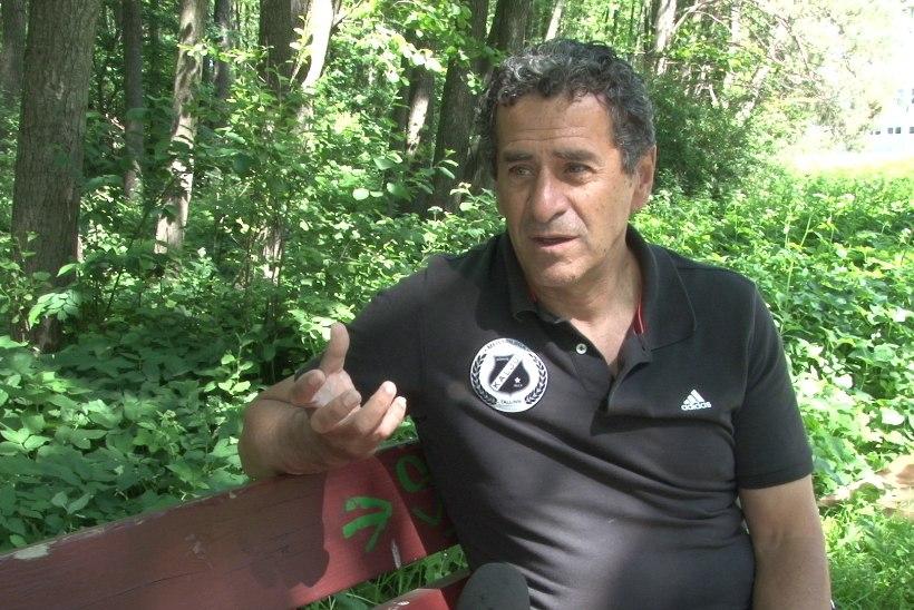 """JALGPALLISTUUDIO: Nõmme Kalju treener Fredo Getulio Aurelio: """"Kui sa tuled Brasiilias teiseks, oled sa eikeegi!"""""""