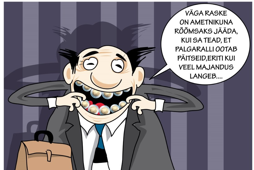 Juhtkiri | Ametnike palgaralli ootab päitseid