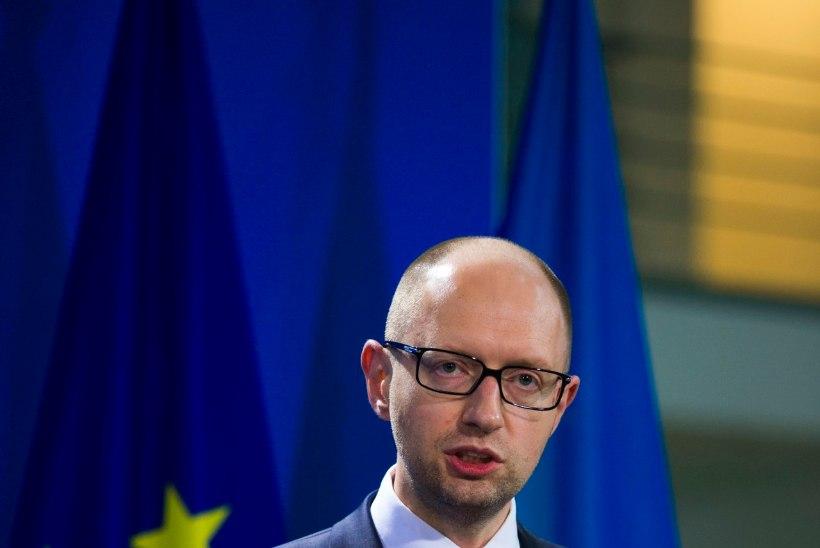 Jatsenjuk: Ukraina ei hakka Vene Gazpromi viie miljardiga doteerima
