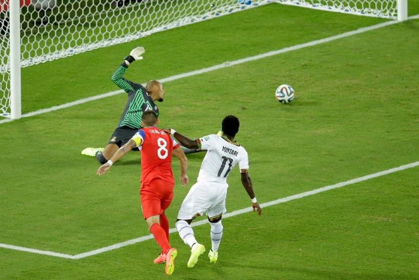 GALERII: Poole minutiga värava löönud USA võttis Ghana üle seljavõidu