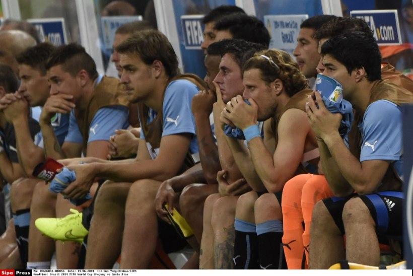 KURIOOSUM: Toll võttis Uruguai meeskonnalt populaarse kreemi ära