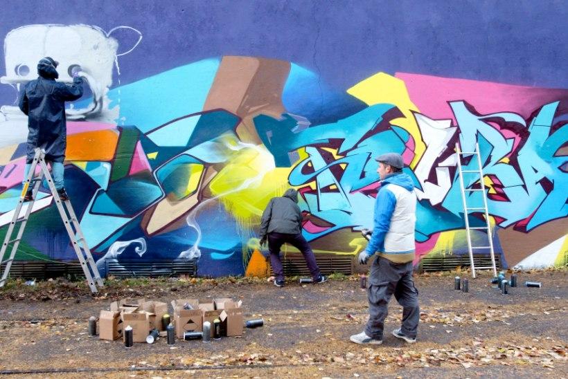 Repliik | Elron kaalugu grafiti lubamist