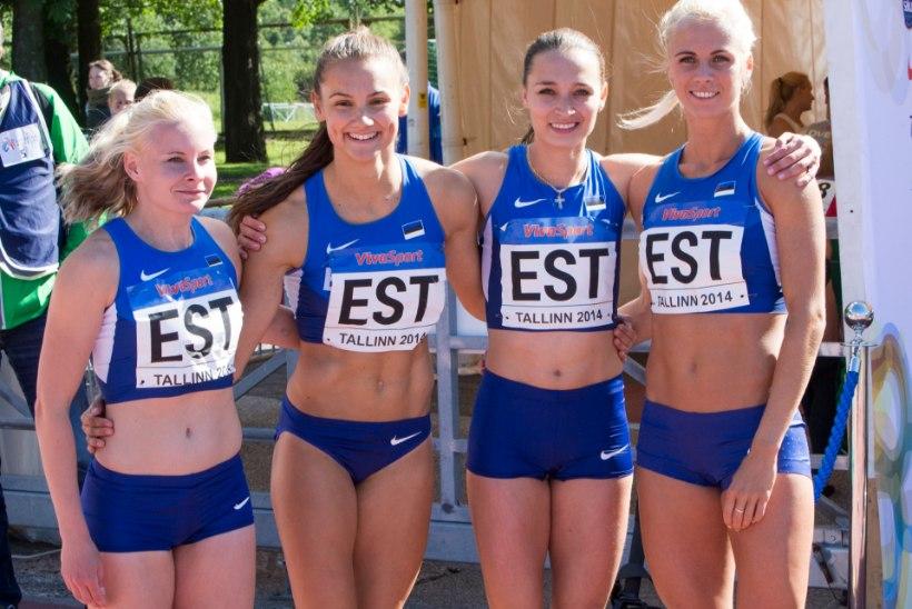 GALERII: Eesti kergejõustikukoondis võistkondlikul EMil pärast avapäeva 9. kohal, sündis ka kaks Eesti rekordit