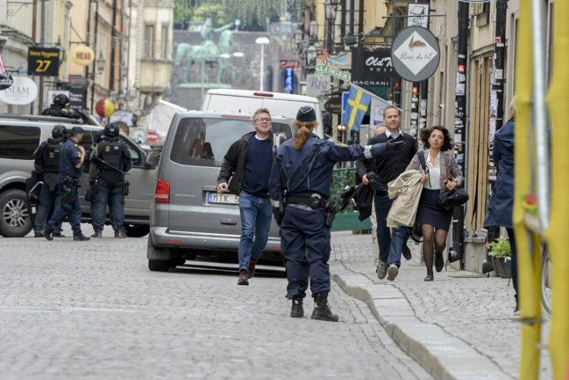 Stockholmis pommiga ähvardanud mees oli sisserändaja