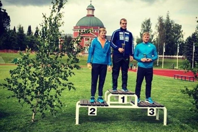 Tanel Laanmäe Soomes kolmas