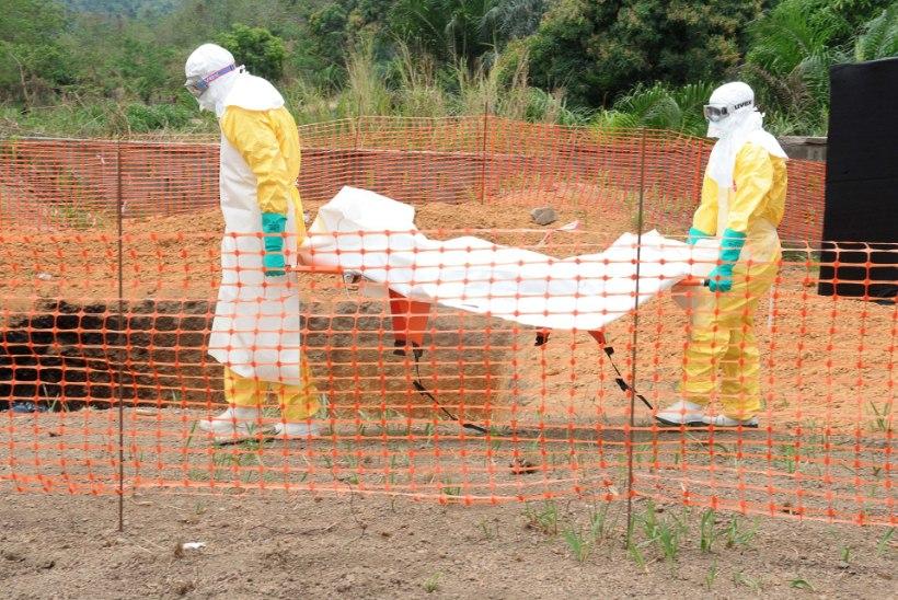 Ebola on kontrolli alt väljunud