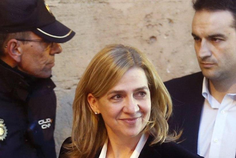 Hispaania printsess sai maksupettuse ja rahapesu süüdistuse