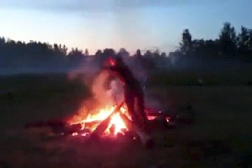 """Õudne jaanipidu põlenud mehega Naissaare rannal: """"Iga kord öeldi, et oodake, abi tuleb!"""""""