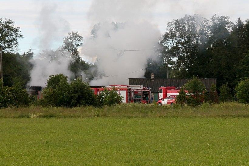 """FOTOD: põleng laastas """"Kodutunde"""" abiga renoveeritud talu"""