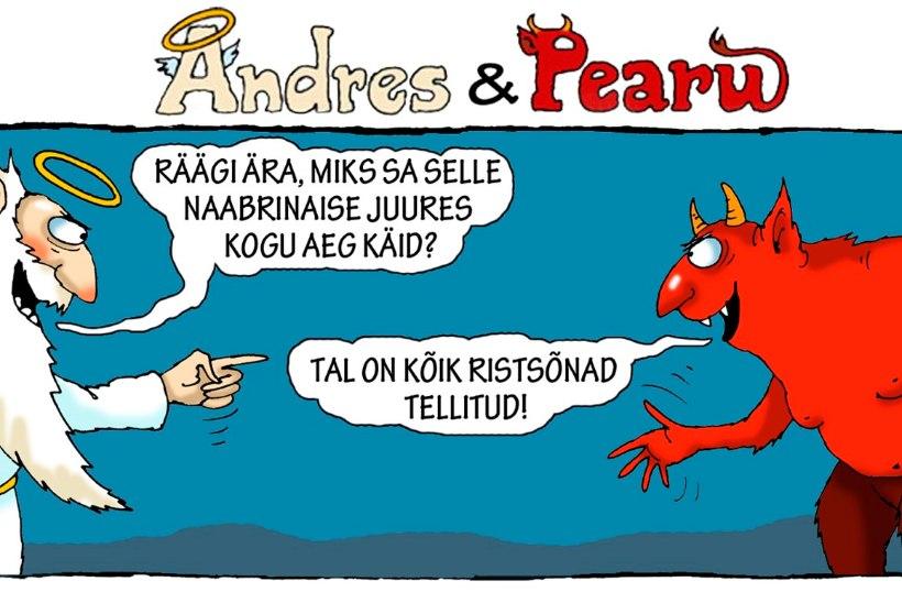 Andres ja Pearu: millega see naabrinaine ahvatleb?